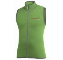 VEST WITH FULL ZIPPER, 400 G/M2