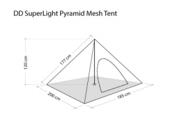 DD SuperLight - Pyramid Mesh Tent