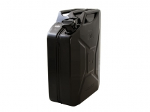 20L Jerry can  - Mat Black steel